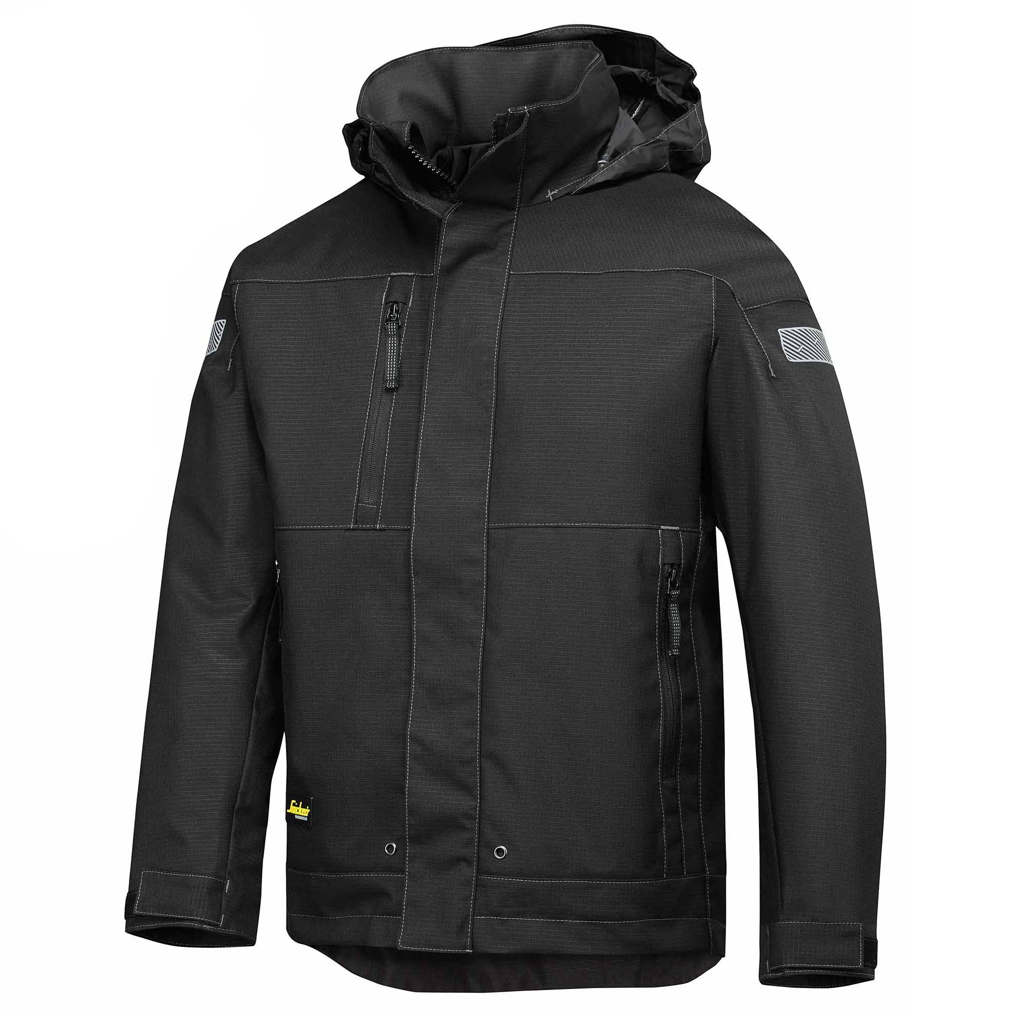 Snickers 1178 | Snickers Waterproof Winter Jacket (Black)