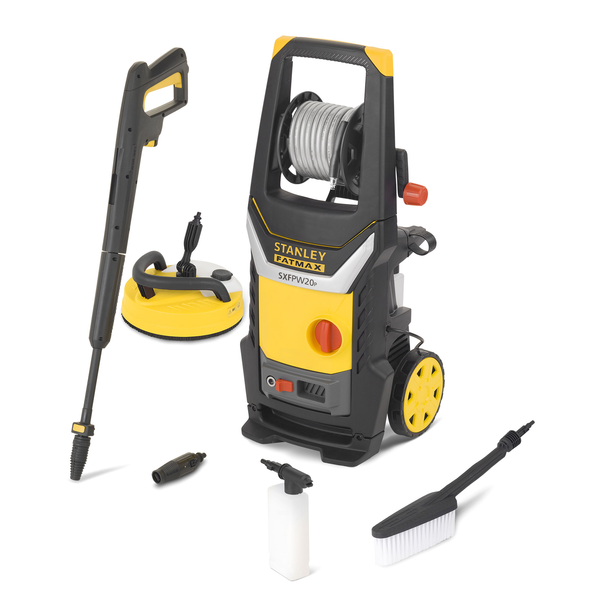 Stanley Sxfpw20pe Fatmax 140 Bar Pressure Washer