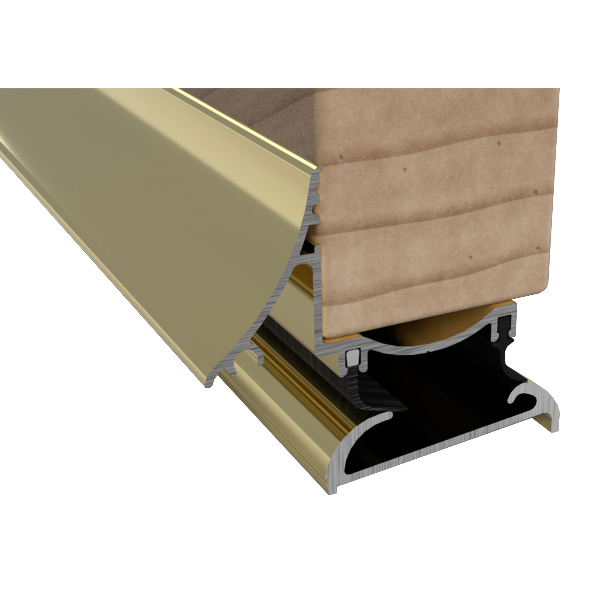 Stormguard 04sr0040914g Trimline Door Threshold 914mm Gold