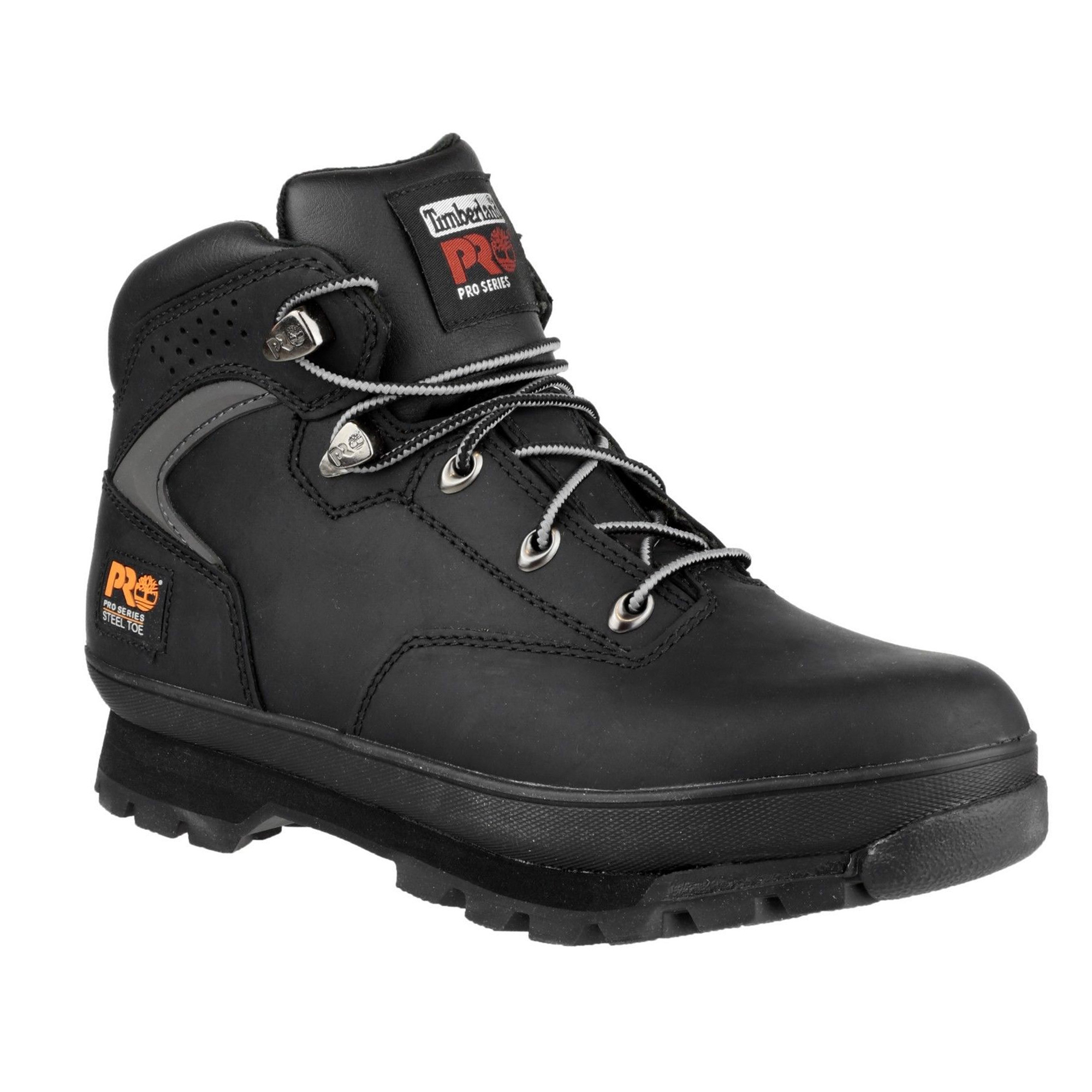 timberland euro hiker safety boots black