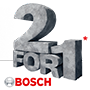 Bosch 18v Brushless Combi Drill With 2 x 4ah Pro Core Batteries, Charger and Case